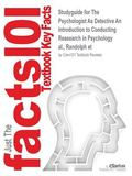 Psychologist As Detective an Introduction to Conducting Reasearch in Psychology