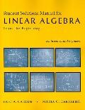 Linear Algebra Solution's Manual
