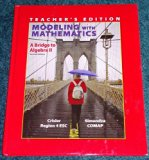 Modeling With Mathematics A Bridge to Algebra II Second Edition Teacher's Edition Region 4 E...