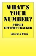 What's Your Number? 3 Digit Lottery Tracker