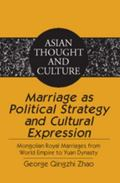 Marriage as Political Strategy and Cultural Expression