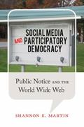 Social Media and Participatory Democracy : Public Notice and the World Wide Web