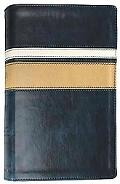 ESV Personal Size Reference Bible, Navy/Khaki/Pearl, Horizon Design