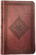 Deluxe Compact Bible-ESV-Diamond Design