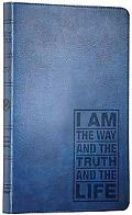 ESV Thinline Bible (TruTone, Navy, John 14:6 Design)