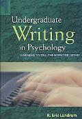Undergraduate Writing in Psychology