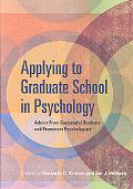 Applying to Graduate School in Psychology