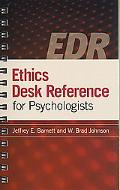 Ethics Desk Reference for Psychologists