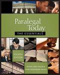 Aralegal today: essentials version+bankruptcy supplmnt Pkg