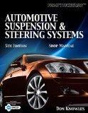 Today's Technichian: Automotive Suspension & Steering Shop Manual (Today's Technician)