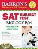 Barron's SAT Subject Test : Biology E/M with CD-ROM, 3rd Edition