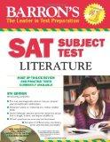 Barron's SAT Subject Test: Literature with CD-ROM, 5th Edition (Barron's SAT Literature (W/CD))