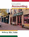 College Accounting, Chapters 1-2