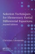 Solution Techniques for Elementary Partial Differential Equations, 2nd edition (Chapman Hall...