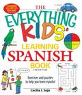 Learning Spanish Book : Exercises and Puzzles to Help You Learn Espanol