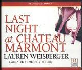 Last Night at Chateau Marmont (Unabridged Audio CDs)