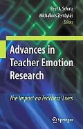 Advances in Teacher Emotion Research: The Impact on Teachers' Lives