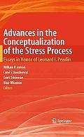 Advances in the Conceptualization of the Stress Process: Essays in Honor of Leonard I. Pearlin