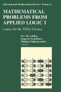 Mathematical Problems from Applied Logic I : Logics for the XXIst Century