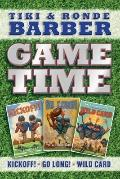Barber Game Time: Kickoff!; Go Long!; Wild Card