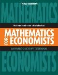 Mathematics for Economists : An Introductory Textbook
