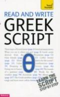 Teach Yourself Read and Write Greek Script