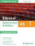 Edexcel as Government & Politics. Student Unit Guide