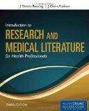 Introduction To Research And Medical Literature For Health Professionals (Blessing, Introduc...