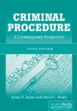 Criminal Procedure: A Contemporary Perspective