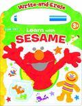 Sesame Write and Erase Board Book