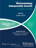 The Washington Manual of Rheumatology Subspecialty Consult (Washington Manual: Subspecialty ...