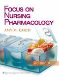 Focus on Nursing Pharmacology Pb