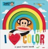 Julius! I Love Color!: Finger Puppet Board Book