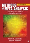 Methods of Meta-Analysis : Correcting Error and Bias in Research Findings