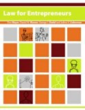 Law for Entrepreneurs