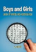 Boys and Girls Book of Names and Wordsearch