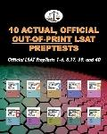 10 Actual, Official Out-of-Print LSAT PrepTests : Official LSAT PrepTests 1-6, 8, 17, 39, an...