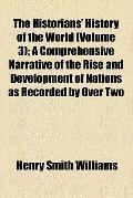 The historians' history of the world (v. 3)
