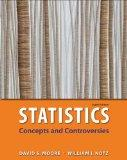 Statistics: Concepts & Controversies: w/EESEE Access Card