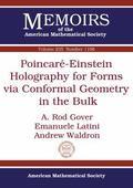 Poincare-Einstein Holography for Forms Via Conformal Geometry in the Bulk
