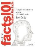 Studyguide for Introduction to Audiology by Frederick N. Martin, Isbn 9780132108218