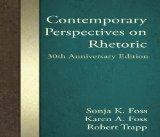 Contemporary Perspectives on Rhetoric, 30th Anniversary Edition