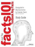Studyguide for Macroeconomics by Colander, David, ISBN 9780077387471