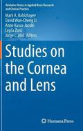 Studies on the Cornea and Lens