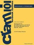 Studyguide for Entrepreneurship and Small Business Management by Mariotti, Steve, ISBN 97801...
