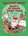 Coloring Book, Santa's All Alaska Sleigh Team