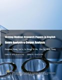 Writing Medical Research Papers in English: Genre Analysis & Corpus Analysis