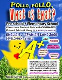 Pollo, Pollo,  What is that?  Pre-School / Elementary School Classroom Student Aids with COG...