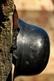 A German World War II Helmet, for the Love of History: Blank 150 page lined journal for your...