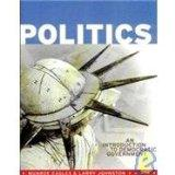 Politics An Introduction to Democratic Government